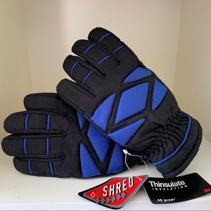 Boys Gloves THINSULATE INSULATED Size medium 8-10